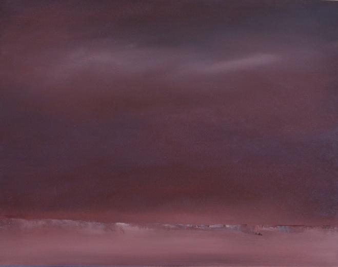 15-22 Nocturne in Purple 14x18